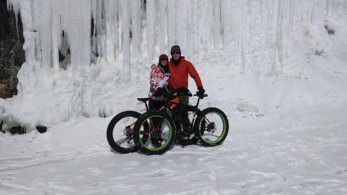 ice biking, Gills