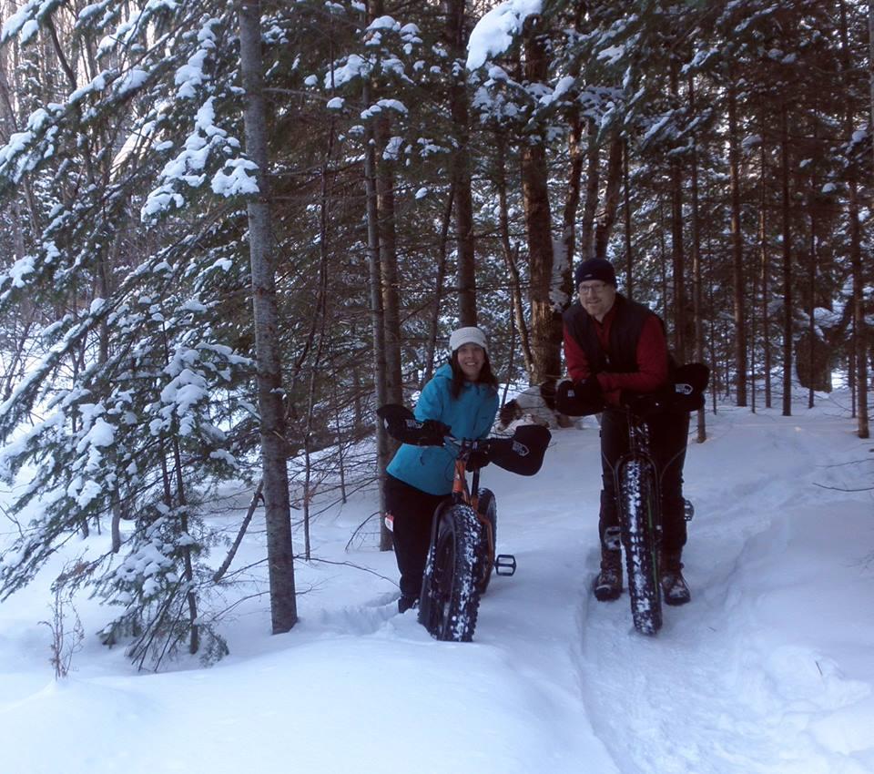 trail biking, Gills