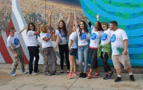 U.P. mural project Patronicity, creative inspiration, murals in Michigans Upper Peninsula, U.P. wellness publication, U.P. well-being magazine