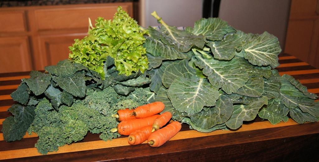 spring greens, healthy cooking, stir fry recipe for spring, U.P. holistic, U.P. wellness publication